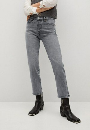 MAR - Džíny Straight Fit - grijs denim