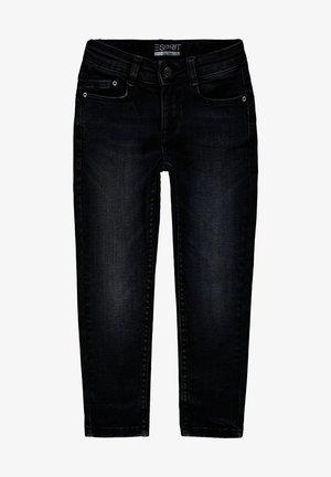 Slim fit jeans - blue black washed