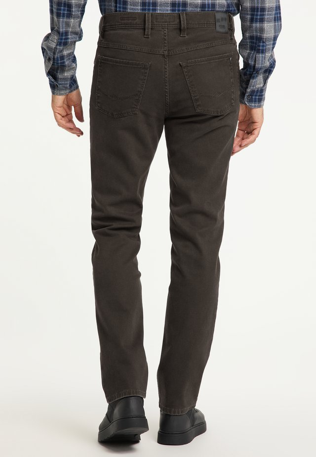 PETER - Straight leg jeans - brown