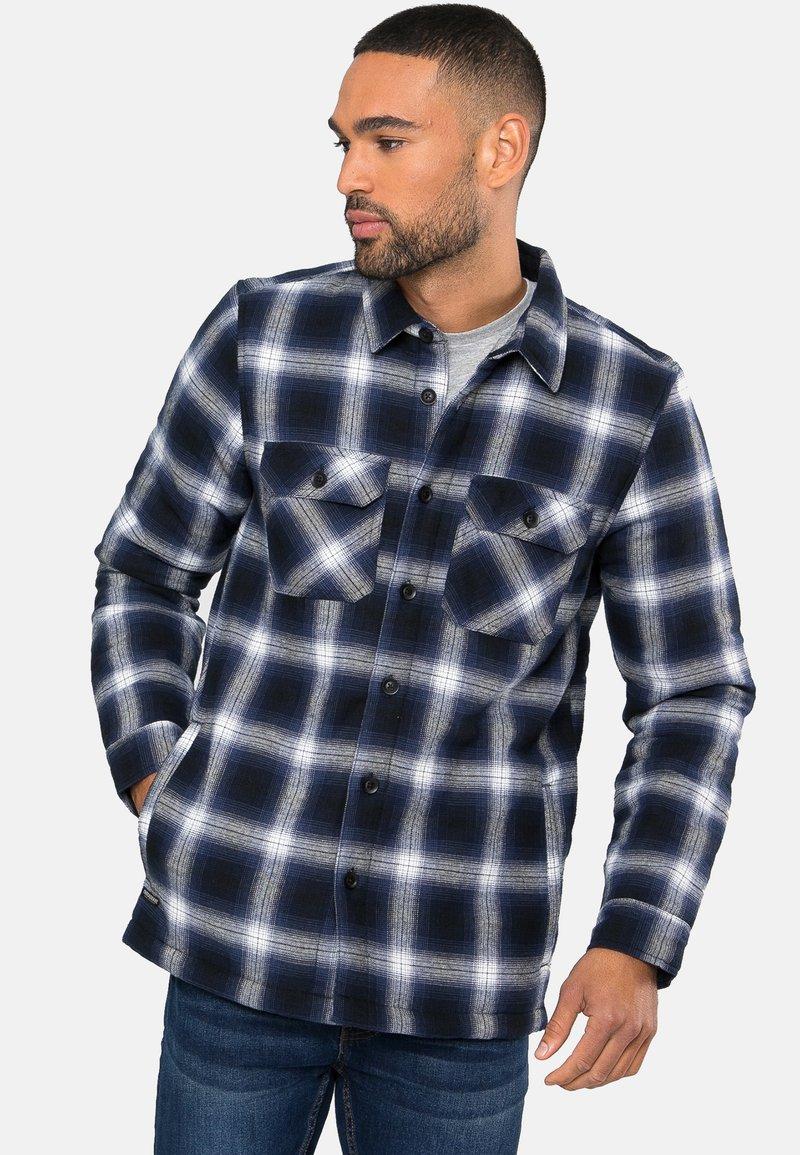 Threadbare - FRANCE GEFÜTTERT - Shirt - blau