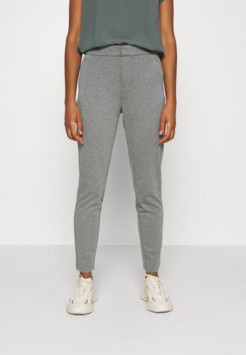 ONLPOPTRASH LIFE STRIKE PANT - Kalhoty - medium grey melange