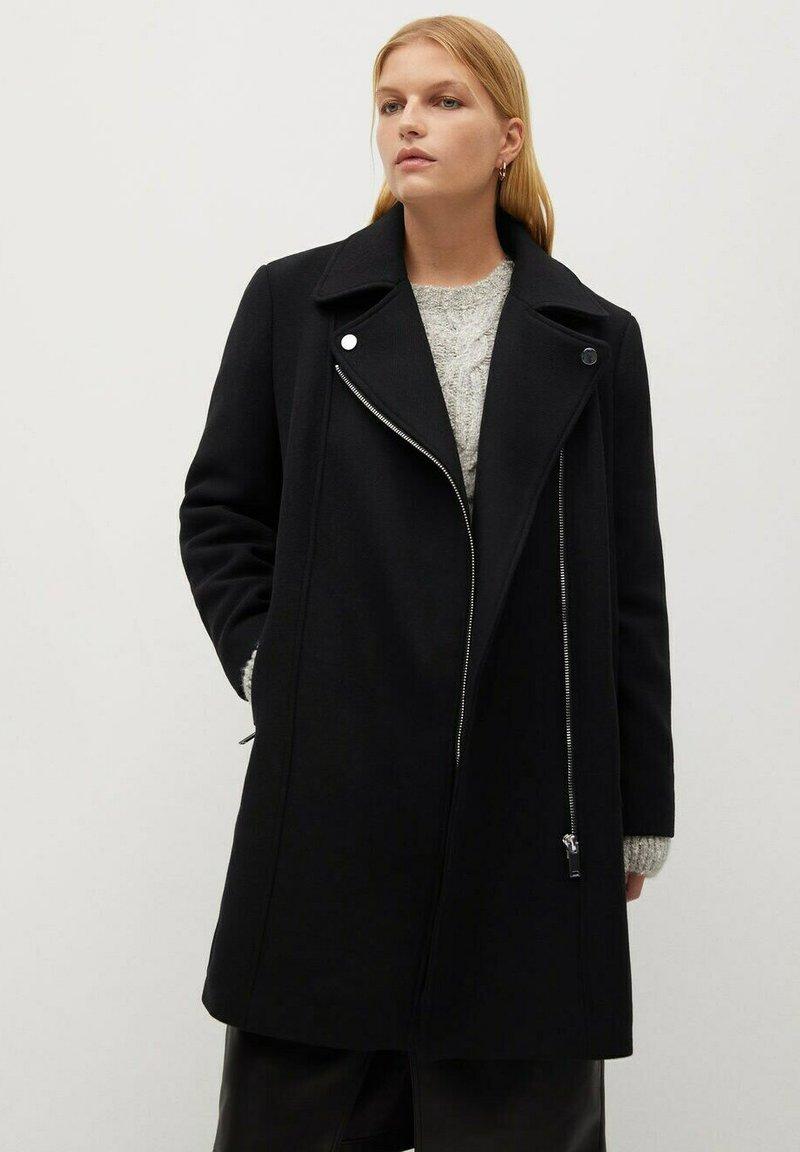 Violeta by Mango - ELECTRIC - Winter coat - zwart