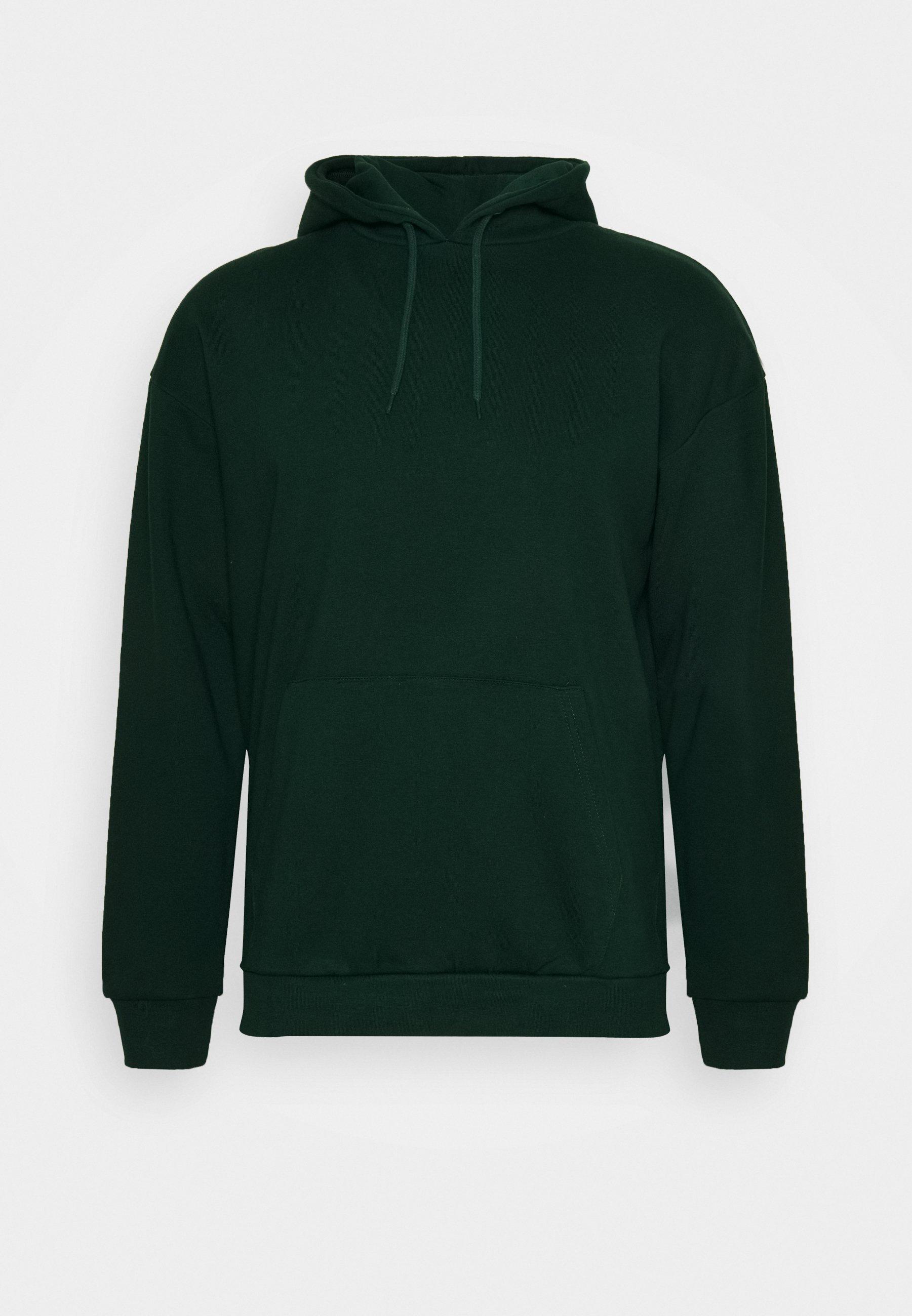 Pier One Hoodie - Dark Green/mørkegrønn