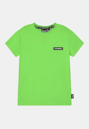 SPORTY UNISEX - Print T-shirt - gecko green