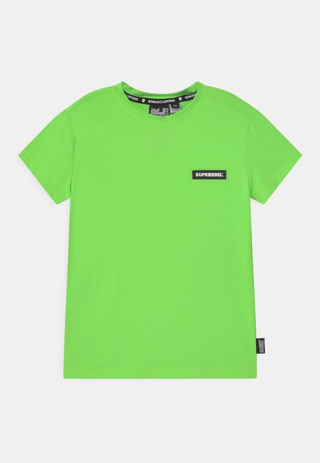 SPORTY UNISEX - T-shirt con stampa - gecko green