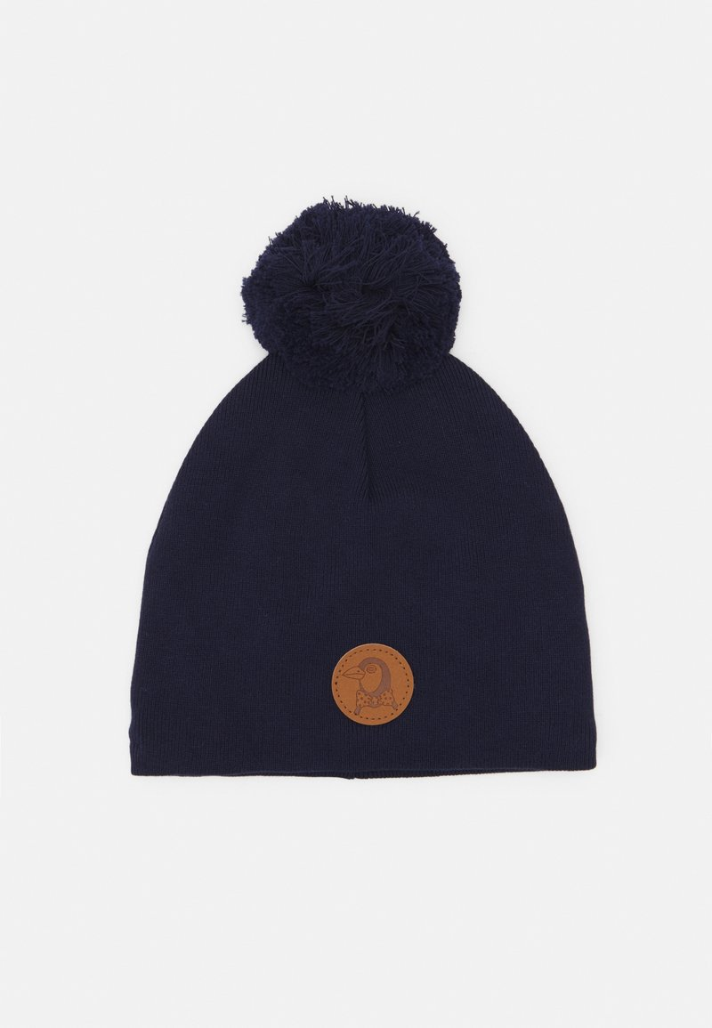 Mini Rodini - PENGUIN HAT - Beanie - navy