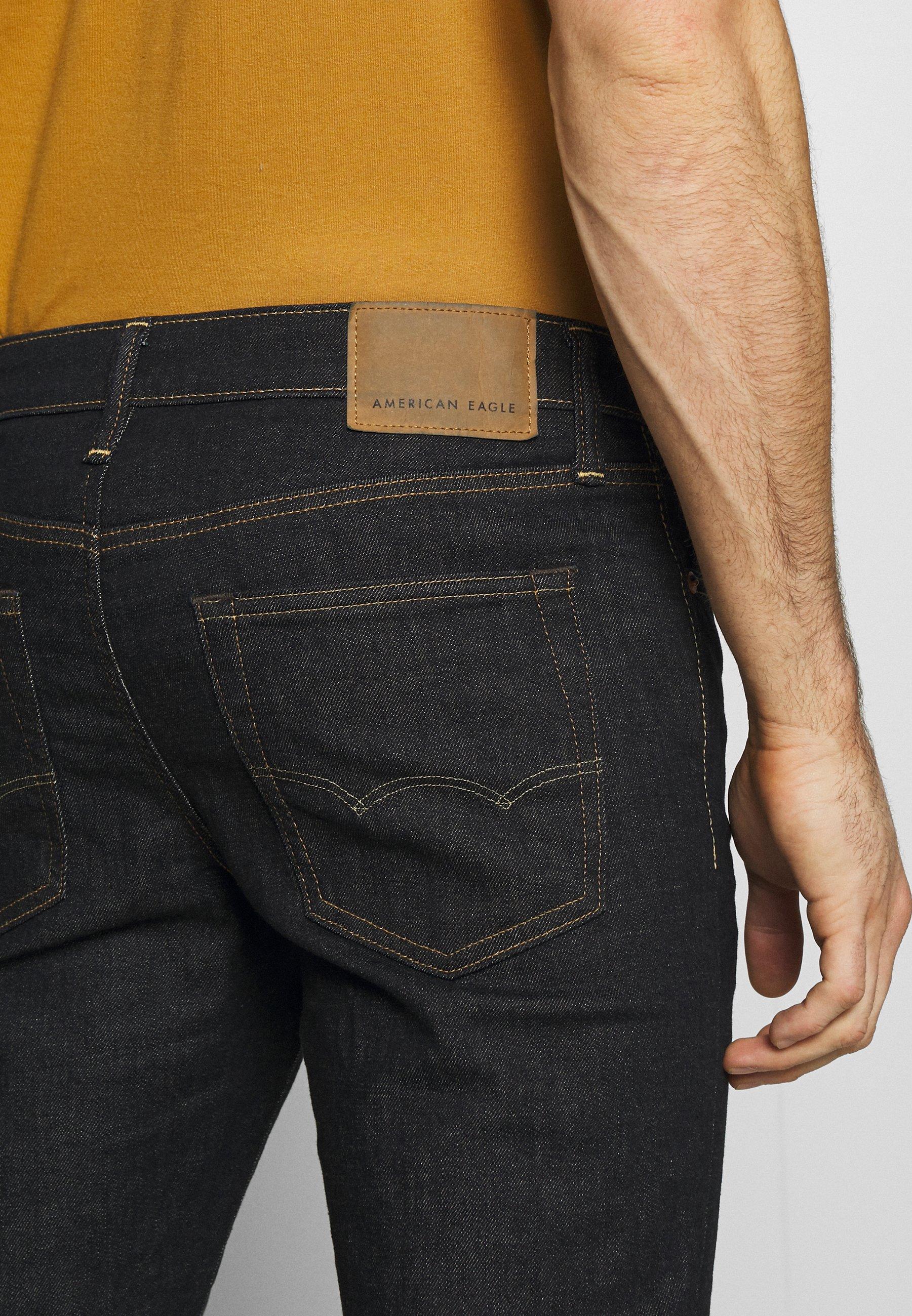 American Eagle SLIM DARK WASH - Jean slim - dark rinse