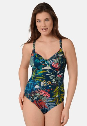 Swimsuit - blue - dark combination