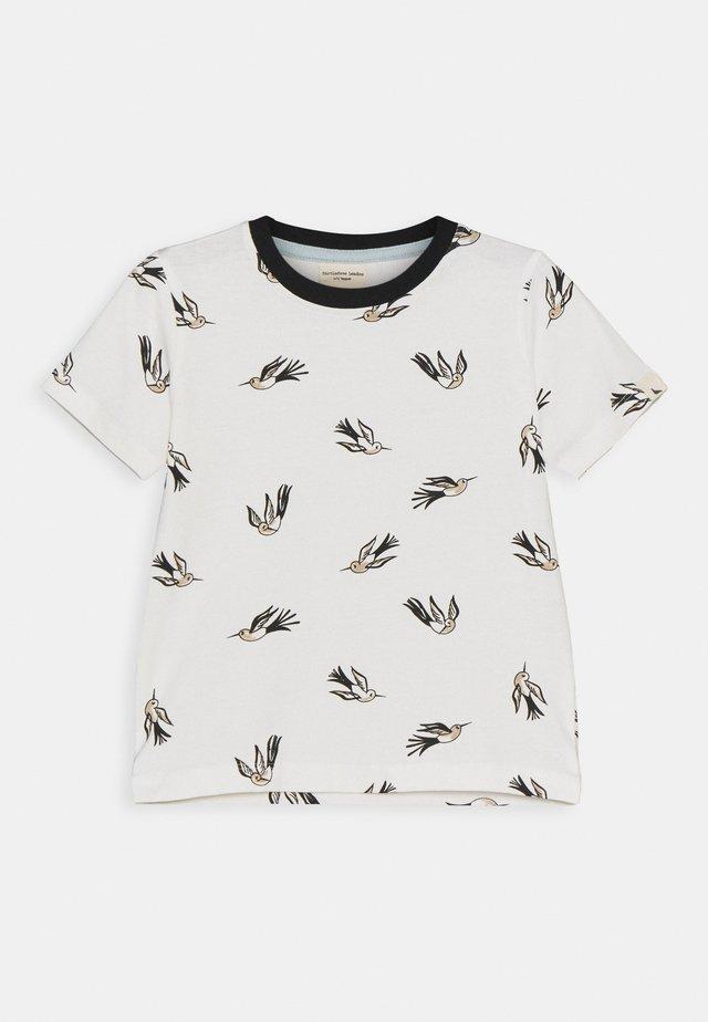 HUMMINGBIRD UNISEX - T-shirt imprimé - white