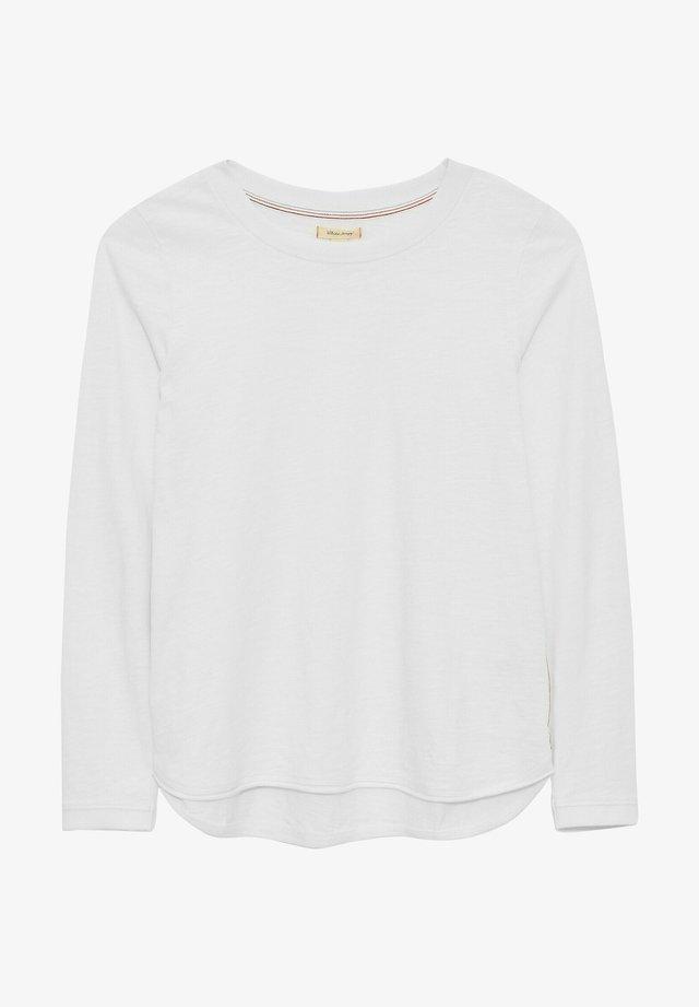 T-shirt à manches longues - strahlend weiß