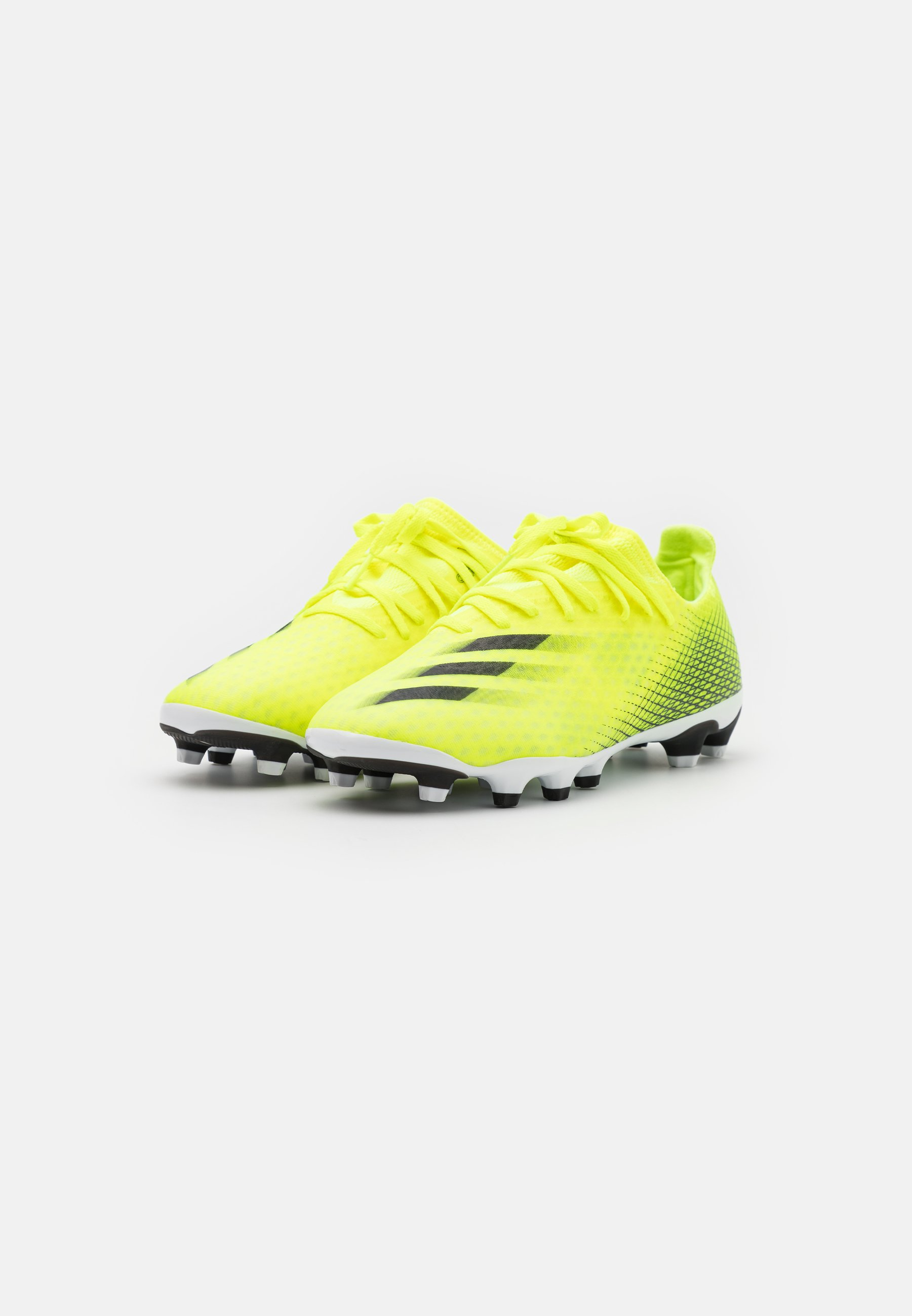 X GHOSTED.3 MG - Chaussures de foot à crampons - solar yellow/core black/royal blue