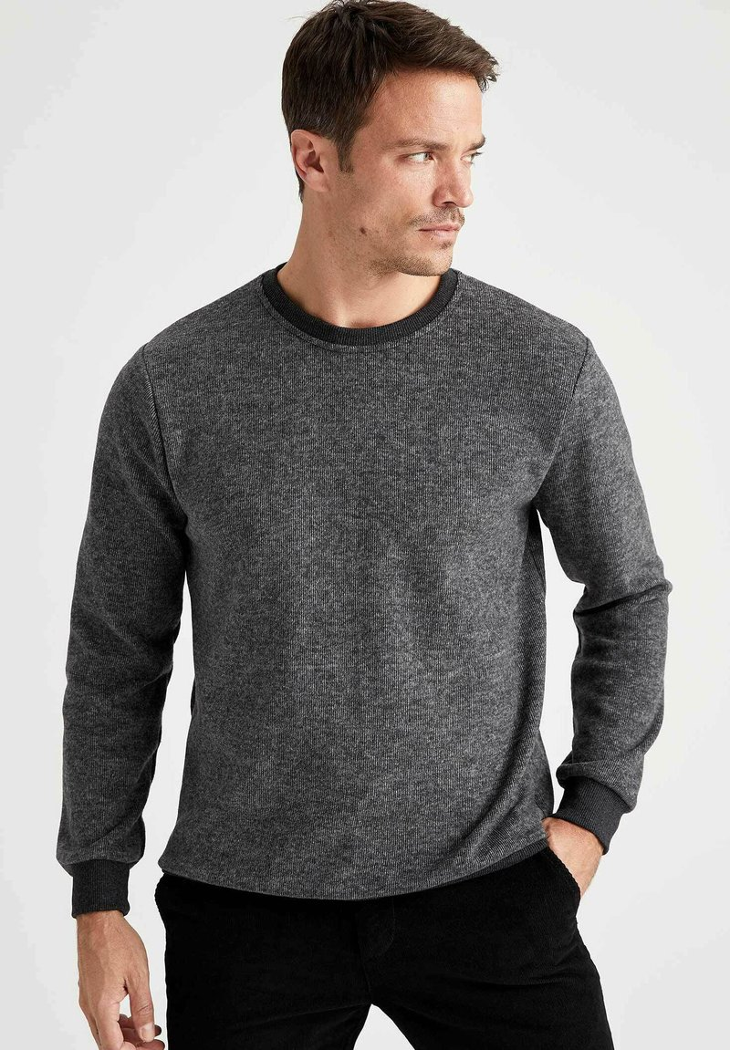 DeFacto - Stickad tröja - anthracite