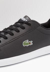 Lacoste - GRADUATE - Sneakers laag - black - 5