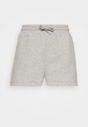 CLOEY - Tracksuit bottoms - grey dusty/light grey melange