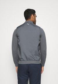Puma Golf - ARNIE BOMBER JACKET - Training jacket - iron gate - 2