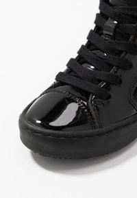 Geox - KALISPERA GIRL - Zapatillas altas - black - 5