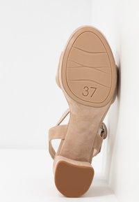 Unisa - NENES - Platform sandals - nude - 6
