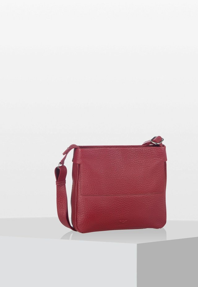 PETUNIA  - Across body bag - red