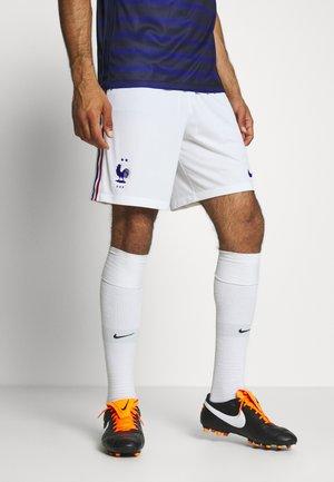 FRANKREICH FFF SHORT - Short de sport - white/concord