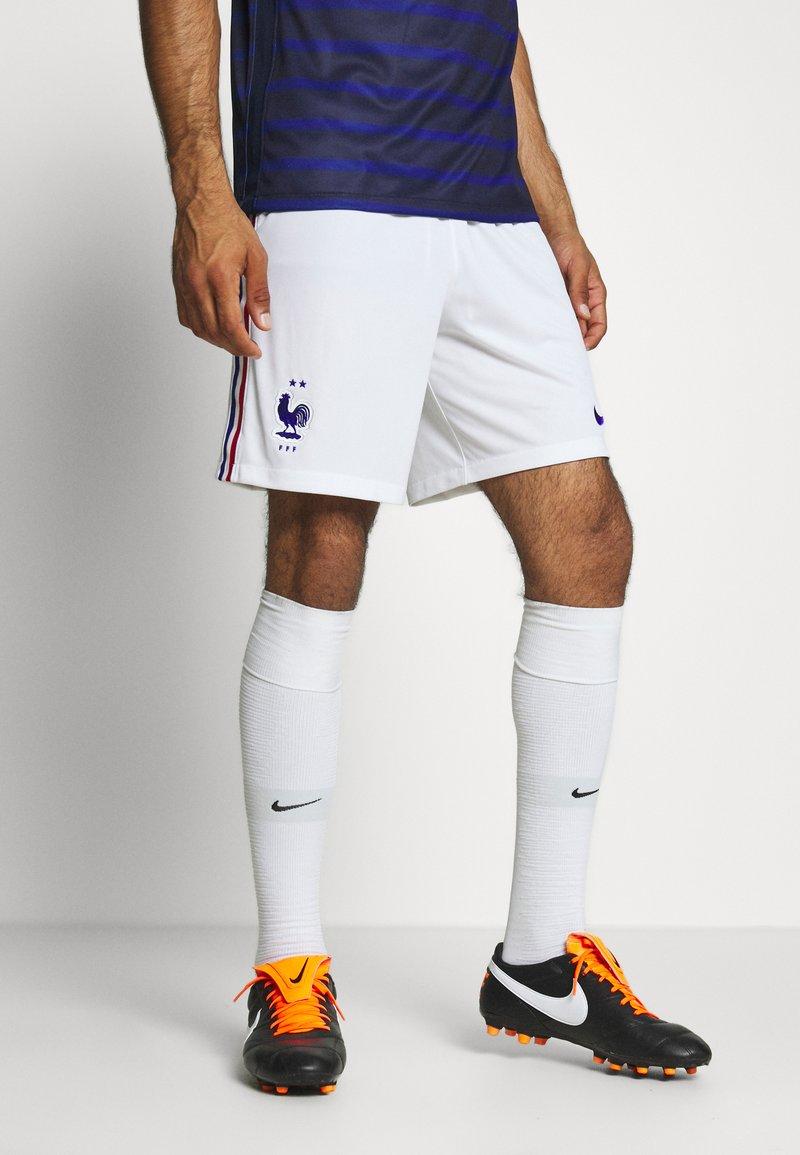 Nike Performance - FRANKREICH FFF SHORT - Short de sport - white/concord