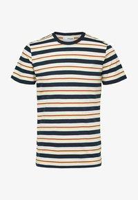 Selected Homme - T-shirt imprimé - sky captain - 5