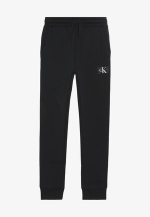 MONOGRAM SWEATPANTS - Pantalones deportivos - black