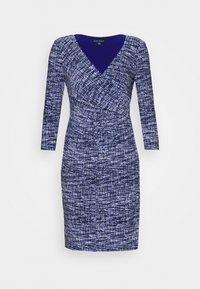 Lauren Ralph Lauren Petite - CLEORA - Shift dress - black/blue/multi - 3