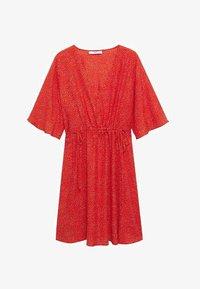 Mango - Day dress - rood - 5