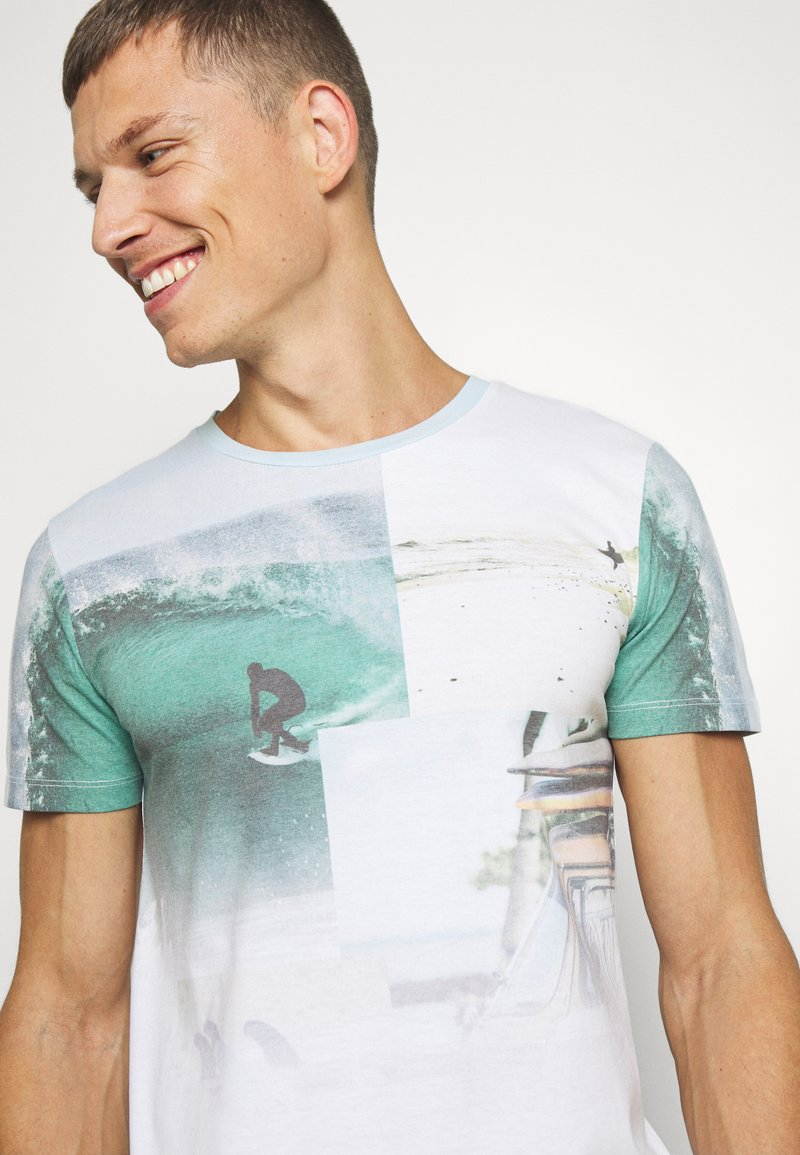 Tom Tailor Denim Fotoprint Camiseta para Hombre