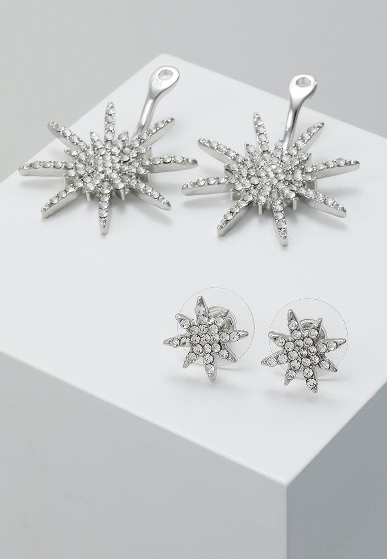 sweet deluxe GALACTIC - Øredobber - silber/crystal/sølv kwX3wxWCdSkU3Vi