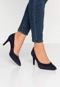 s.Oliver BLACK LABEL - Classic heels - dark blue - 0