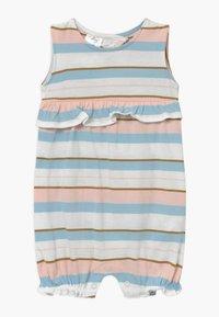 Carter's - STRIPE RUFFLE - Jumpsuit - white, light pink - 0
