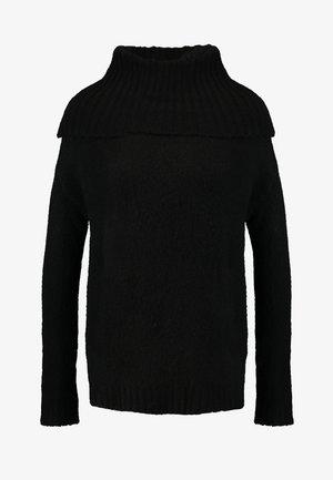 VMKIZZI LONG COWLNECK - Strickpullover - black