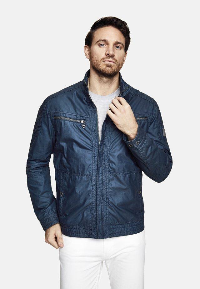 Light jacket - turquoise blue