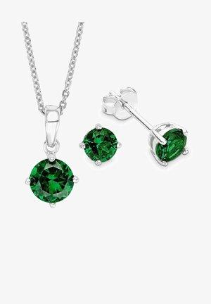 SET - Earrings - grün
