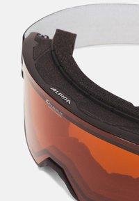 Alpina - NAKISKA UNISEX - Lyžařské brýle - black - 5