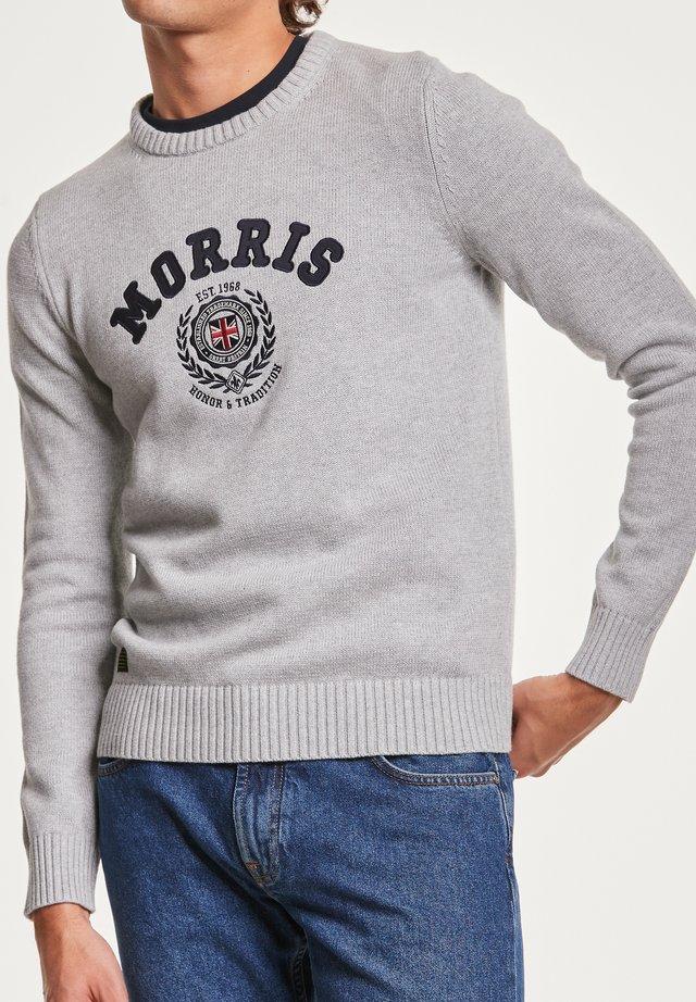 WREN - Stickad tröja -  grey
