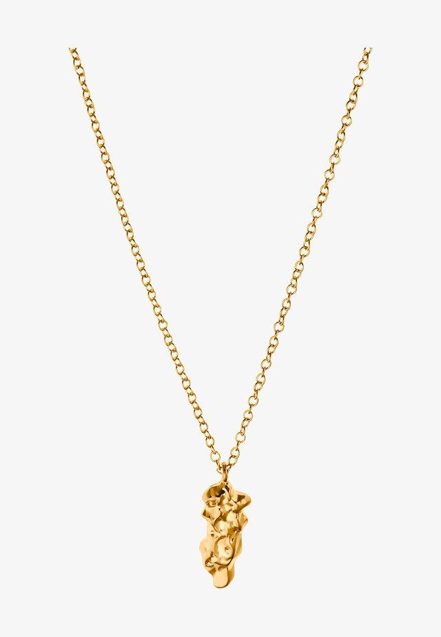 Halskæder - goldfarbend
