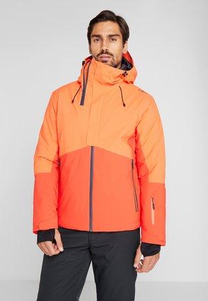 MAN JACKET FIX HOOD - Ski jacket - tango