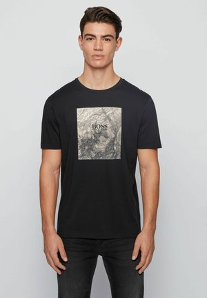 TIRIS  - Print T-shirt - black