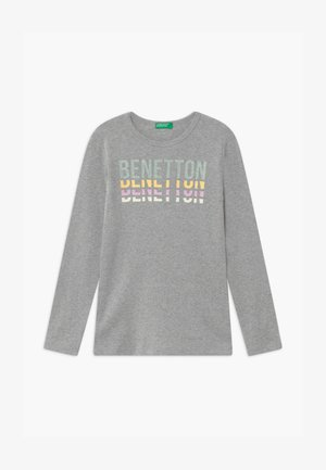 BASIC GIRL - Long sleeved top - light grey
