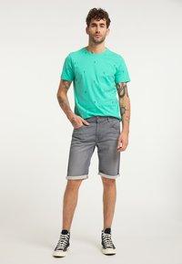 Petrol Industries - T-shirt print - light sea green - 1