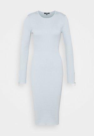 ZIP DETAIL MIDI DRESS - Jumper dress - blue