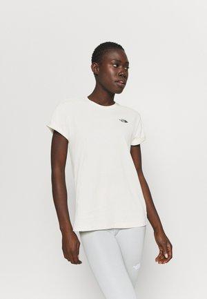 W TISSAACK TEE  - T-shirts print - vintage white