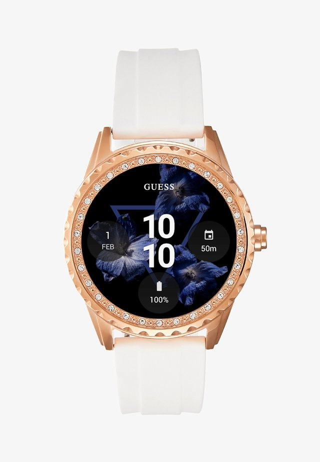 SMART WATCH - Älykello - rose gold-coloured/white