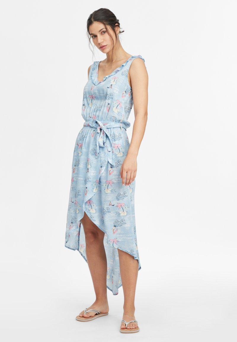 O'Neill - Day dress - blue with pink or purple