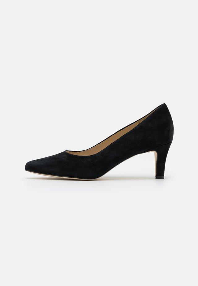 LEATHER COMFORT - Classic heels - black