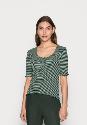 STRIPE TINNA - T-shirt imprimé - multi scarab