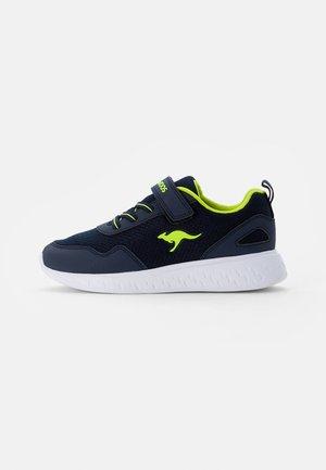 ACT OLE - Sneaker low - dark navy/lime