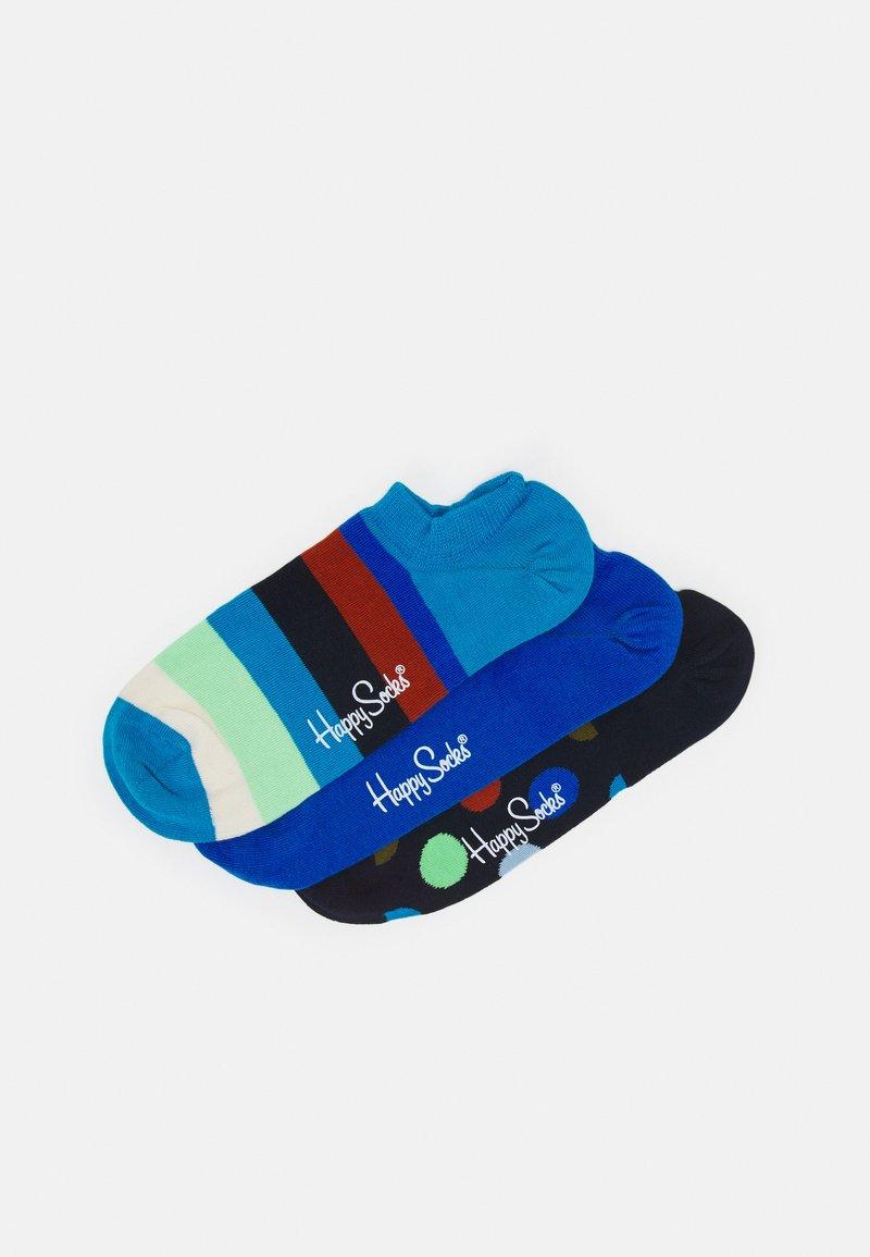 Happy Socks - STRIPE NO SHOW SOCK UNISEX 3 PACK - Socks - multi